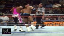 The Rock vs. Bret Hart 1997 - ONCE IN A LIFETIME - WWF RAW - WWE Wrestling Fight Fighting Match Sports Dwayne Johnson