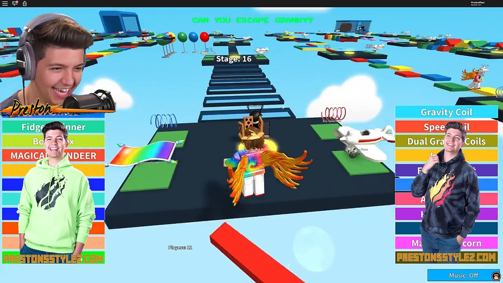 Escape Granny Obby In Roblox Dailymotion Video