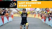 Last kilometer / Flamme rouge - Étape 19 / Stage 19 - Tour de France 2018