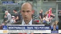 """Montparnasse: """"On ne pourra pas avoir de trafic normal demain"""", affirme le directeur général SNCF transilien"""