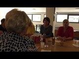 Ish presidentja Jahjaga viziton Shoqatën e Gruas dhe IFK në