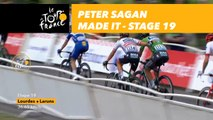 Peter Sagan made it / Peter Sagan est bien dans le gruppetto! - Étape 19 / Stage 19 - Tour de France 2018