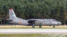 "Antonov An-30B - Romanian Air Force ""Open Skies"" 1105 - departure from Manching Air Base [2160p25]"