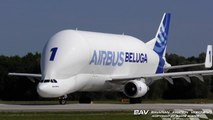 Airbus A300-608ST Beluga - Airbus Transport International F-GSTA - departure from Manching Air Base [2160p25]