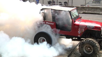 A&A Auto Stores Burnout Competition Highlights Bloomsburg 2018