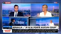 """Alexandre Benalla au 20h de TF1 : """"Je n'ai donné aucun coup. On essaie d'atteindre le Président, c'est profondément injuste. Il n'y a pas d'affaire d'Etat juste une affaire d'été"""" -"""