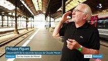 La gare Saint-Lazare, source d'inspiration de Claude Monet