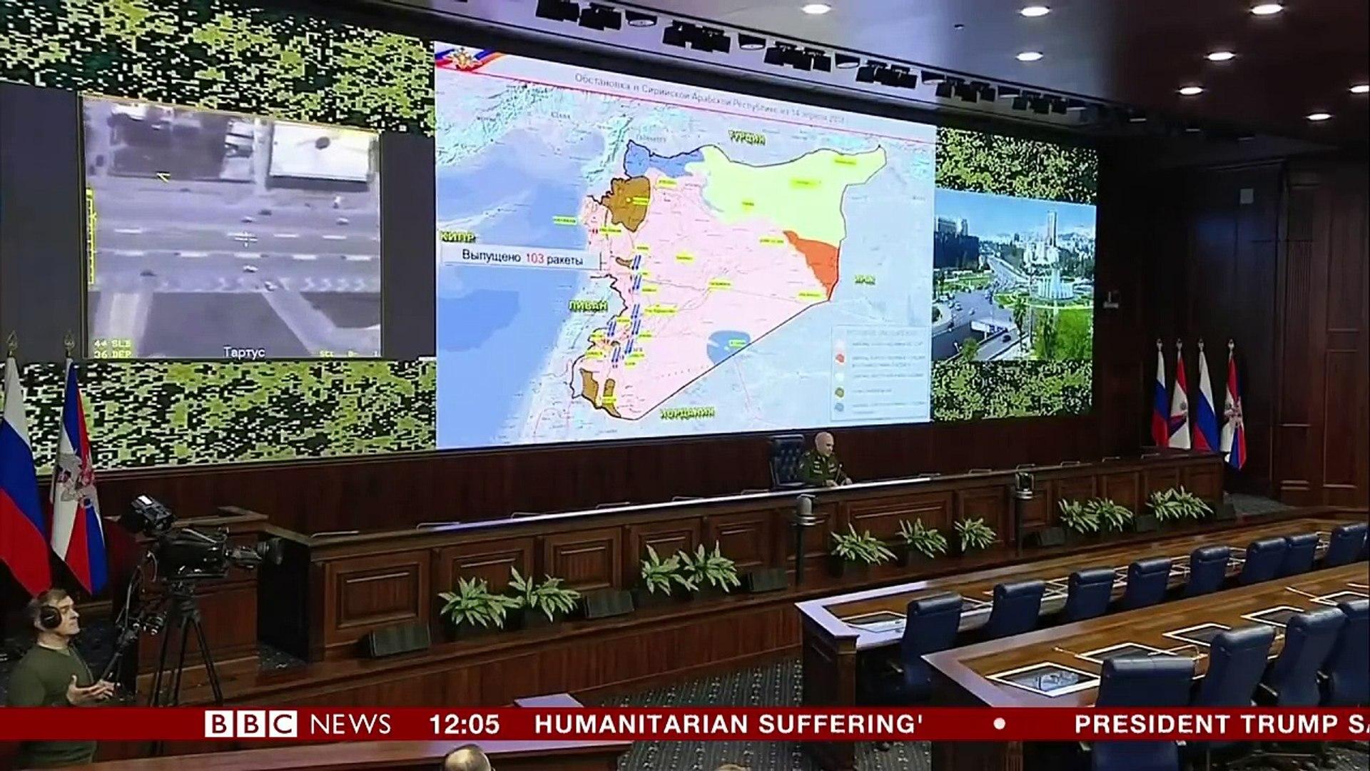 Syria air strikes- Latest updates- BBC News