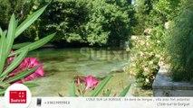 L'ISLE SUR LA SORGUE : En bord de Sorgue , villa avec fort potentiel