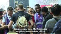 Trafic très perturbé gare Montparnasse après un incendie