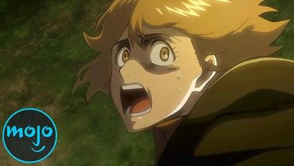 Top 10 Brutal Attack on Titan Kills (ft. Josh Grelle - Voice of Armin!)