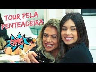 TOUR PELA PENTEADEIRA DA MINHA MÃE!