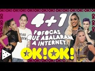 Update da Demi, Ariana triste com o Insta, Pabllo tomou joelhada e o Felipe Neto pelado