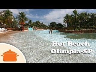 Vlog de Viagem Olímpia-SP - Hot Beach 2018