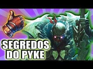 OS SEGREDOS DO NOVO CAMPEÃO, PYKE! - (CURIOSOS DO LOL)