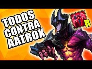 MITOS DO NOVO AATROX - (MYTHBUSTERS DO LOL)