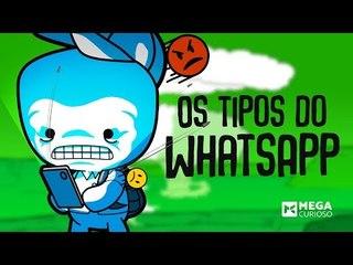 Quem é VOCÊ nos grupos do Whatsapp? - mega curioso