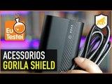 Bateria e cabos pra ninguém botar defeito - Acessórios Gorila Shield