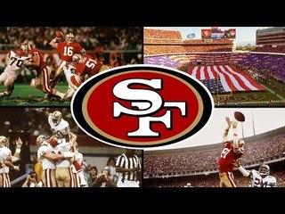 Os 5 SUPER BOWLS de SAN FRANCISCO 49ERS