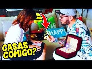 PEDI MINHA NAMORADA EM CASAMENTO ( ELA ACEITOU ?! )
