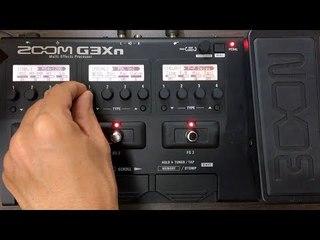Zoom G3Xn - Pedal de Volume