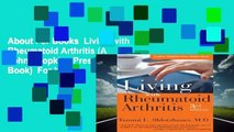 About For Books  Living with Rheumatoid Arthritis (A Johns Hopkins Press Health Book)  For Kindle