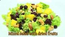 How to Prepare Mixed Salad with Dried Fruits- HogarTv por Juan Gonzalo Angel