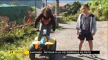 #jtrun #LaReunion Daphnée est rentrée ce week-end à l'île de La Réunion, après un long périple. Depuis plus d'un an, la petite fille de 13 ans était hospitalisé