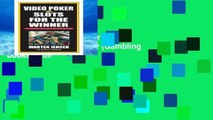 Best seller  Video Poker and Slots for the Winner (Gambling books)  Full