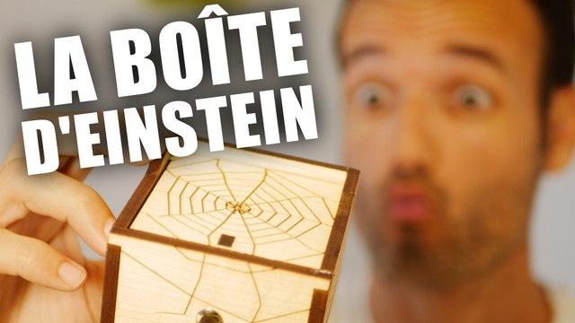 La très stylée boîte araignée d'Einstein - Casse tête - Fabien Olicard