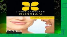 New Releases Living Language Russian, Complete Edition: Beginner through advanced course,