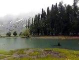 Snow in Mahodand lake Kalam Swat,KPK,Pakistan