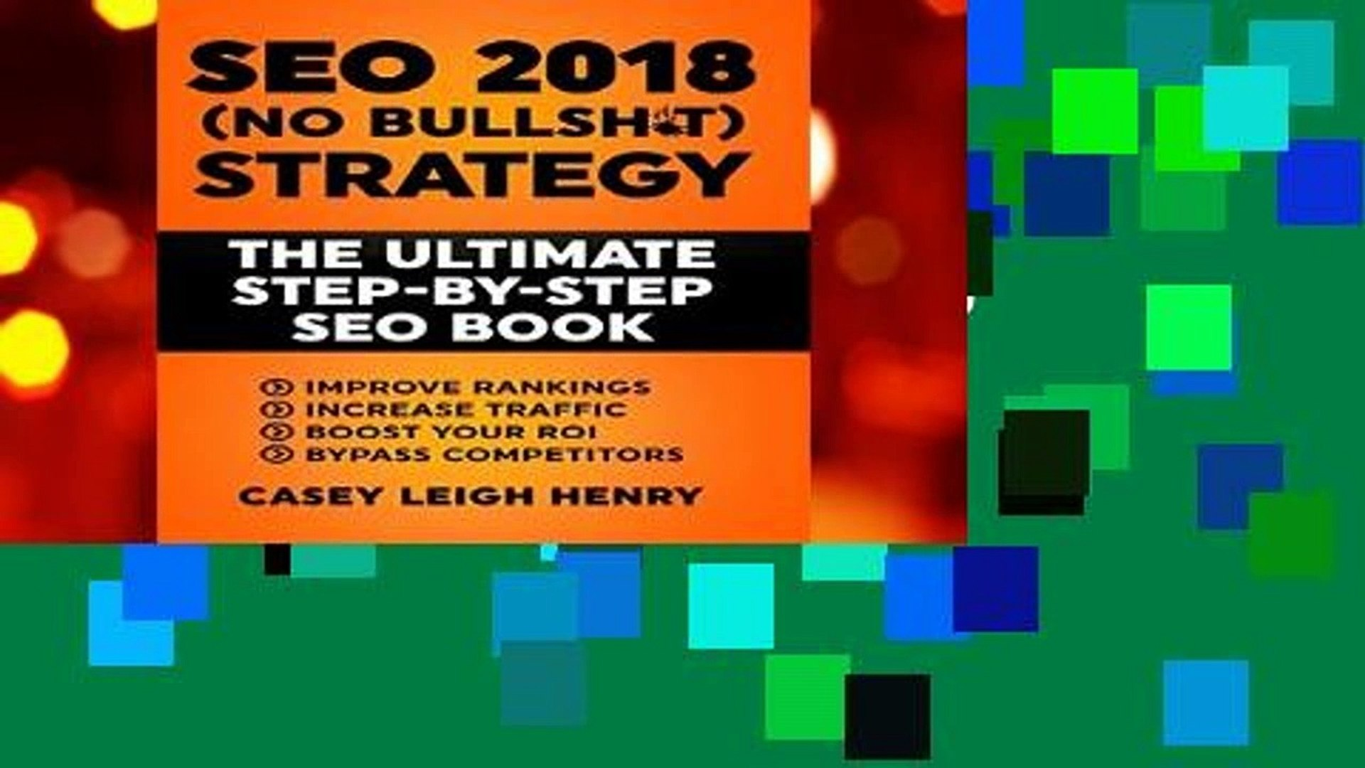 Best ebook  SEO 2018 (No-Bullsh*t) Strategy: The ULTIMATE Step-by-Step SEO Book: (Easy to