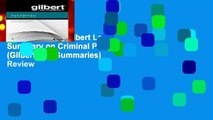 New Releases Gilbert Law Summary on Criminal Procedure (Gilbert Law Summaries)  Review