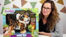 Roarin' Tyler FurReal Friends _ The Playful Tiger _ Amy Jo Toy Review