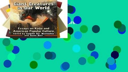 Unlimited acces Giant Creatures in Our World Book