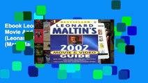 Ebook Leonard Maltin s Movie And Video Guide 2002 (Leonard Maltin s Movie Guide (Mass Market)) Full