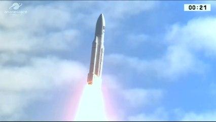 Launch of Final Ariane 5 ES with Galileo  FOC 19, 20, 21, 22