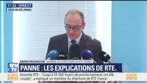 """Incendie RTE: """"Jusqu'à 55.000 foyers de proche banlieue ont été coupés"""", déclare le membre du directoire de RTE Xavier Piechaczyk"""