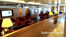 Seabourn Sojourn Cruise Ship Video Tour. Public Rooms, Restaurants & Suites