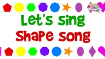 Learn Shape Song ,  Shapes Song ,  Shape Nursery Rhymes For Children ,  Funny Shapes for Kids
