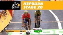 Hepburn prend la tête du contre-la-montre / takes the lead - Étape 20 / Stage 20 - Tour de France 2018