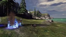 Halo 3 AI Battle Jackals vs Grunts