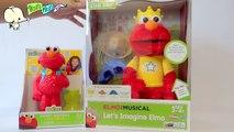 Lets Imagine ELMO and Bubblin Blast ELMO ♥ Imaginando y Cantando con Elmo! Echa Burbujas!