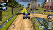 Monster Truck 4x4 Stunt Racer / Monster Truck Cars Games / Android gameplay FHD #2