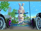 Rayman Raving Rabbids 2 Nintendo Wii Gameplay Bike Race
