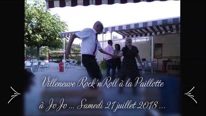 Bal Rock'n Roll à la Paillotte à Jojo samedi 21 juillet 2018