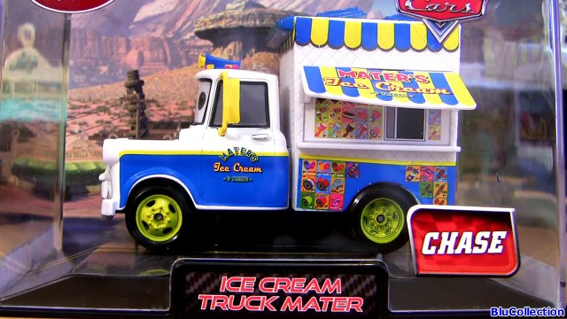 Ice Cream Truck Mater Cars 2 Chase Edition Diecast Maters Ice Cream n Treats new Disney