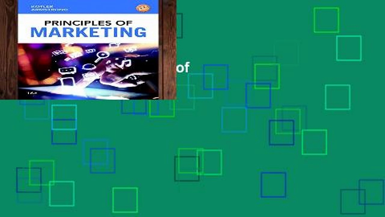 Best ebook  Principles of Marketing  Unlimited