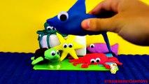 Play Doh Under The Sea Finding Nemo Bugs Bunny Cars 2 Spongebob Surprise Eggs Easter Eggs